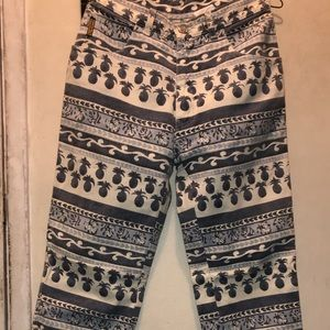 Giorgio Armani Pineapple Print Jeans